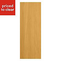 IT Kitchens Solid Oak Style Tall Appliance & larder Wall end panel (H)900mm (W)335mm