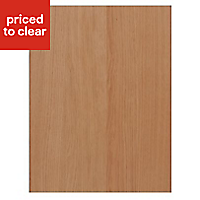 IT Kitchens Solid Oak Style Appliance & larder Base end panel (H)720mm (W)570mm