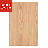 IT Kitchens Solid Oak Style Appliance & larder End support panel (H)890mm (W)620mm