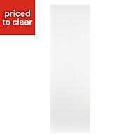 IT Kitchens Santini Gloss White Slab Tall Appliance & larder End panel (H)1920mm (W)570mm, Pack of 2