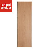 IT Kitchens Solid Oak Style Tall Larder Panel (H)2100mm (W)570mm, Pack of 2