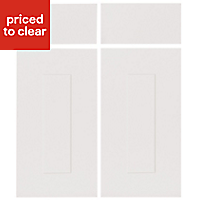 IT Kitchens Stonefield Stone Classic Cabinet door, (W)925mm