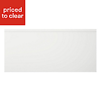 Cooke & Lewis Appleby High Gloss White Pan drawer front & bi-fold door, (W)500mm