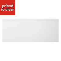 Cooke & Lewis Appleby High Gloss White Pan drawer front & bi-fold door, (W)600mm
