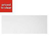 Cooke & Lewis Appleby High Gloss White Pan drawer front & bi-fold door, (W)800mm
