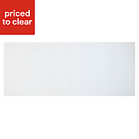 Cooke & Lewis Raffello High Gloss White Pan drawer front & bi-fold door, (W)800mm