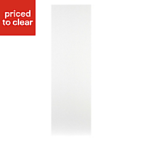Cooke & Lewis High Gloss White Tall Larder Clad on panel (H)2280mm (W)640mm