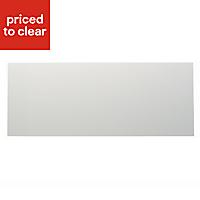 IT Kitchens Santini Gloss White Slab Pan drawer front & bi-fold door, (W)800mm