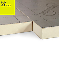 Recticel Instafit Polyurethane Insulation board (L)2.4m (W)1.2m (T)25mm of 1