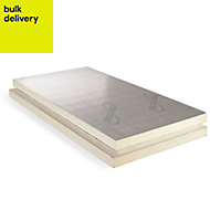 Recticel Instafit Polyurethane Insulation board (L)2.4m (W)1.2m (T)100mm of 1