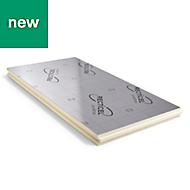 Recticel Instafit PIR insulation panel 1200mm 600mm 50mm