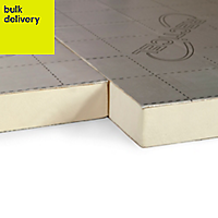 Recticel Instafit Polyurethane Insulation board (L)1.2m (W)0.45m (T)50mm of 1