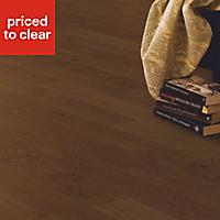 Quick-step Cadenza Cognac Oak effect Real wood top layer flooring, 1m² Pack