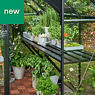 Halls Qube 10ft Greenhouse staging