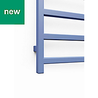Terma Simple 600W Electric Blue Towel warmer (H)1440mm (W)500mm