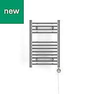 Terma Leo 120W Electric Towel warmer (H)600mm (W)400mm