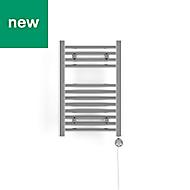 Terma Leo 120W Electric Towel warmer (H)600mm (W)400mm