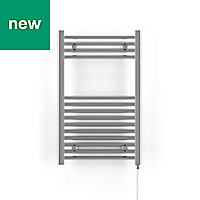 Terma Leo 200W Electric Towel warmer (H)800mm (W)500mm