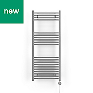 Terma Leo 300W Electric Towel warmer (H)1200mm (W)500mm