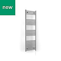 Terma Leo 500W Electric Towel warmer (H)1600mm (W)500mm