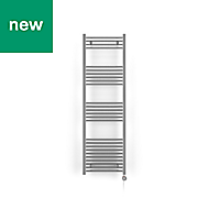 Terma Leo 400W Electric Towel warmer (H)1600mm (W)500mm