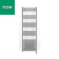 Terma Leo 600W Electric Towel warmer (H)1800mm (W)600mm