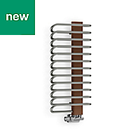 Terma Michelle Copper Towel warmer (H)780mm (W)400mm