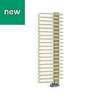 Terma Michelle Sparking Cream Towel warmer (H)1200mm (W)500mm