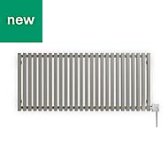 Terma Triga Electric Horizontal Designer radiator Metallic Stone Powder Paint (H)560 mm (W)1280 mm