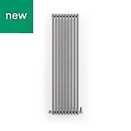 Terma Rolo Room Vertical/horizontal Designer radiator Salt n Pepper Powder Paint (H)1800 mm (W)480 mm