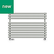 Terma Rolo Towel Salt & Pepper Towel warmer (H)590mm (W)900mm