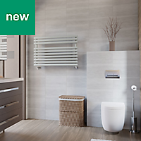 Terma Rolo Towel Salt & Pepper Towel warmer (H)590mm (W)900mm