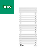 Terma Rolo Towel White Towel warmer (H)1085mm (W)520mm