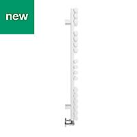 Terma Rolo Towel White Towel warmer (H)1085mm (W)520mm