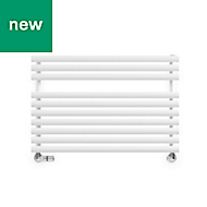 Terma Rolo Towel White Towel warmer (H)590mm (W)520mm
