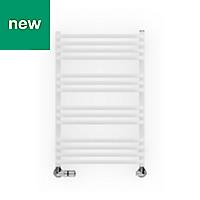 Terma Alex White Towel warmer (H)760mm (W)500mm
