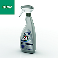 Cif Professional unscented Stainless steel Cleaner, 0.75L