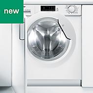 Candy CBWD 8514D-80 White Built-in Condenser Washer dryer