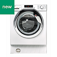 Hoover HBWM 914SC-80 White Built-in Washing machine