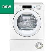 GCSW 496T-80 White Freestanding Condenser Washer dryer