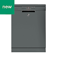 Hoover HDPN4S603PX Freestanding Grey Full size Dishwasher