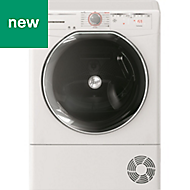 Hoover ATD HY10A2KEX-80 White Freestanding Condenser Tumble dryer, 10kg