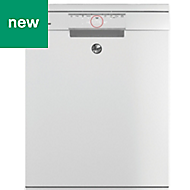Hoover HDPN1S643PW Freestanding White Dishwasher