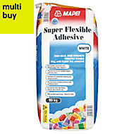 Mapei Super flexible Powder Adhesive, White 20kg