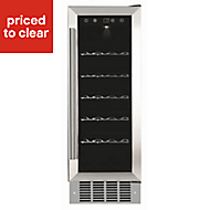 Cata WC300 Stainless steel effect 18 bottles Wine cooler
