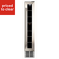 Cata WCC150 Stainless steel effect 7 bottles Wine cooler