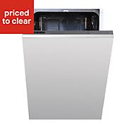 Cata Integrated White Slimline Dishwasher