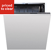 Cata Integrated White Full size Dishwasher