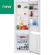 Beko ICQFD173 White Integrated Fridge freezer