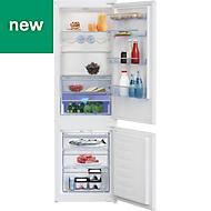 Beko ICQFDB173 White Integrated Fridge freezer